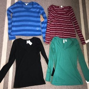Lot of Thread 4 Thought  Shirts (4) All Small NWT